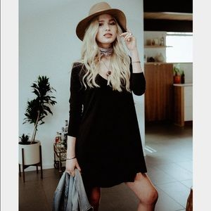 Knot sisters claire mini dress