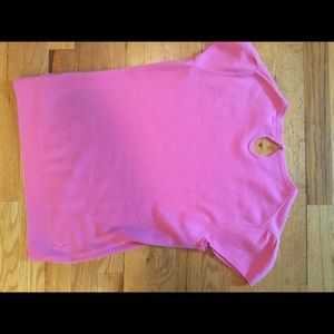 Wool/cashmere pink Lilly Pulitzer sweater