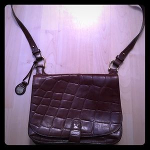 Leather Mulberry crossbody!
