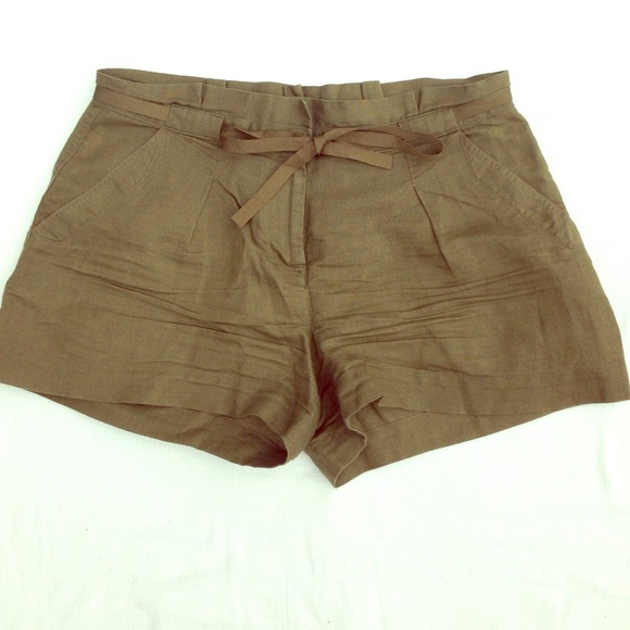 70% off LC Lauren Conrad Pants - Olive high waisted shorts from ...