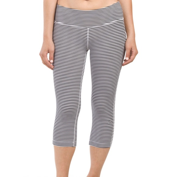 MPG Pants - Striped Workout Leggings