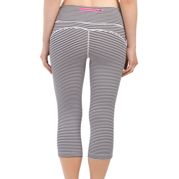MPG Pants - LOWEST Striped Workout Leggings