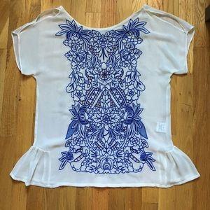 Pretty Embroidered Top