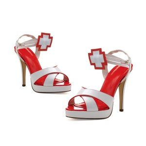 Ellie Shoes - New! Never Worn! Sexy Nurse Heels 7