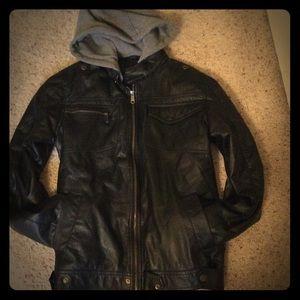 Yoki Other - NWOT men's SZ S YOKI black lined hooded jacket