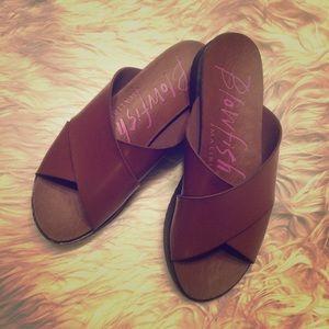 Blowfish Shoes - 🍬Brown Sandals
