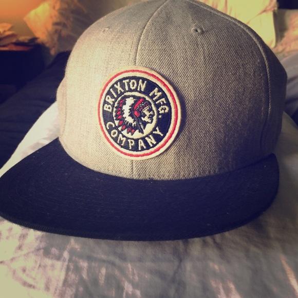 Brixton Other - Brixton branded SnapBack style hat. 45ddd8cdca2