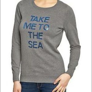 Old Navy Sweaters - Take me to the sea sweater