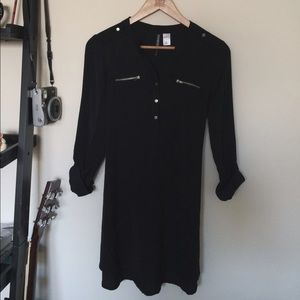 H&M Tops - H&M Black Blouse Dress/Top
