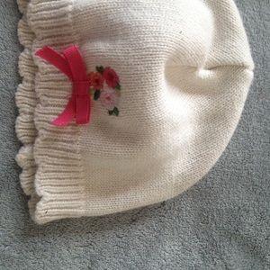 Gymboree Pretty flower hat