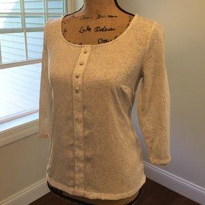 Lauren Conrad Rosebud blouse