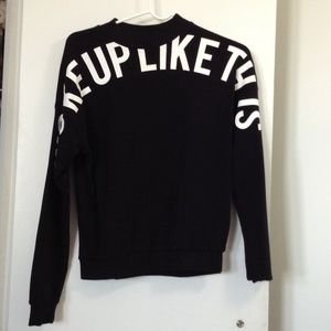 Beyonce inspired crop sweater