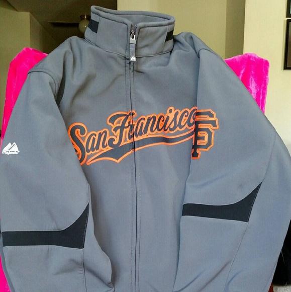 premium selection fb893 b7aa4 San Francisco Giants Jacket