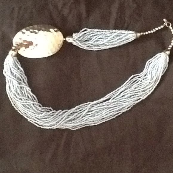 Jewelry - Genuine New Mexico Silver & Blue Lapis Necklace.