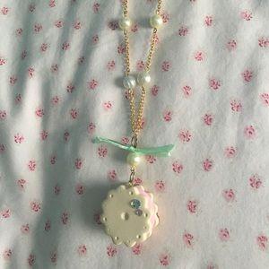Cute kawaii cookie necklace