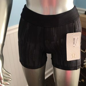 NWT Lululemon what the sport shorts