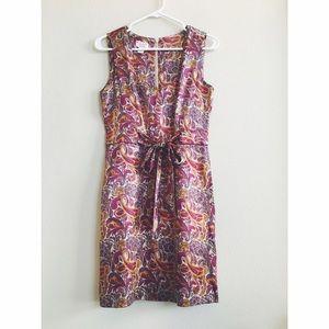 Original Penguin Dresses & Skirts - Original Penguin by Munsingwear Silk Paisley Dress