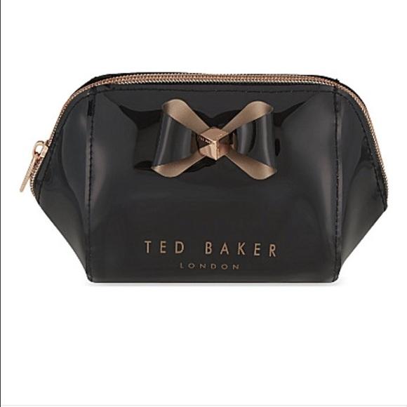 1ad5d1f4c90e Ted Baker Trapeze Bow Makeup Bag