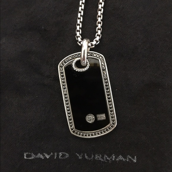 David Yurman Jewelry - David Yurman Large Women s Dog Tag Necklace a7fca21b8f