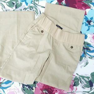 GAP Pants - GAP Maternity hip slung fit
