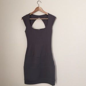 Guess Dresses & Skirts - Guess Fitted Gray Mini Dress