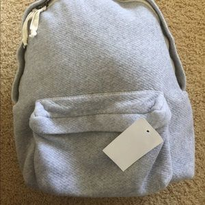 Brandy Melville gray school backpack