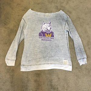 Original Retro Brand Tops - Washington huskies sweatshirt