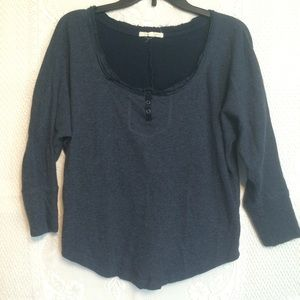 Anthropologie Pure + Good Cotton Pullover