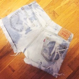 Levi's Pants - Levi's Acid Wash Denim Shorts