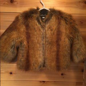 Fabulous Furs Jackets & Blazers - FAUX FUR SHRUG