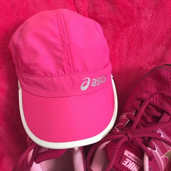f1d90513c58 Asics Accessories - 💋Hot Pink Asics Running Cap💋
