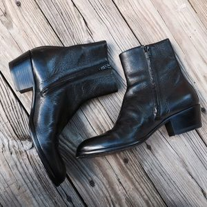 Maison Margiela Shoes - Maison Margiela black ankle boots