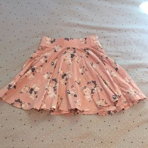 UO Floral Circle Skirt