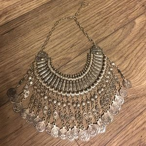 Bohemian Inspired statement necklace