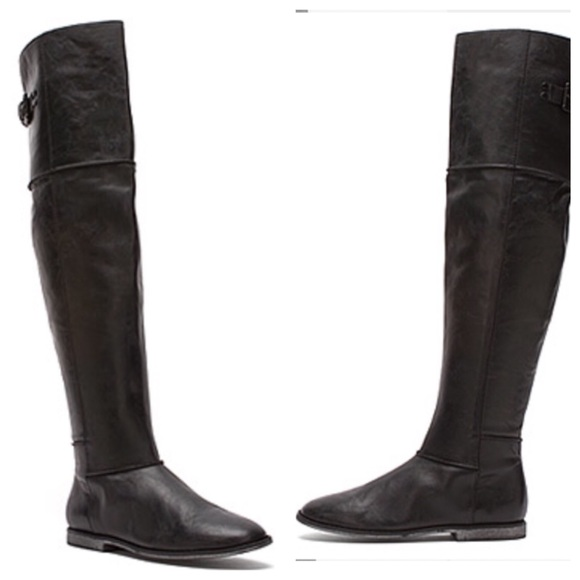 b71cfa68eec Kenneth Cole Black Over the Knee Boots
