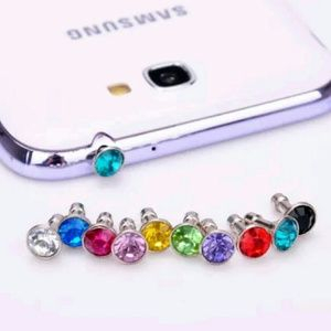 Bling dust plug for iPhones