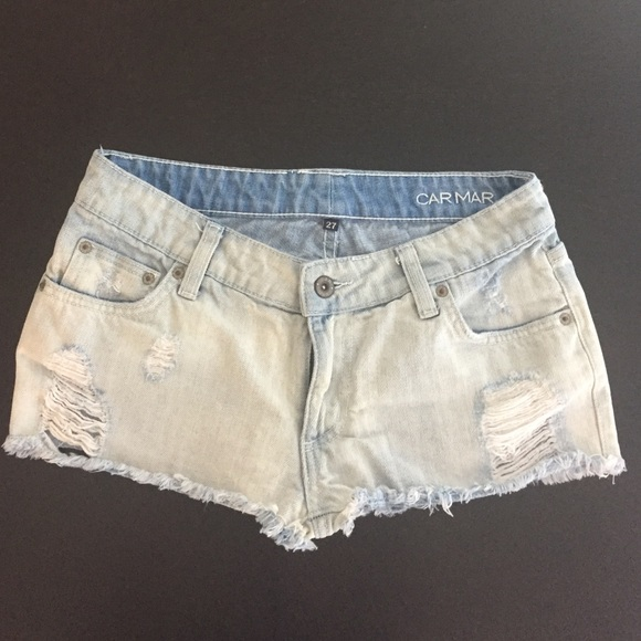 87% off LF Pants - Car mar light wash jean shorts from Kimberly's ...
