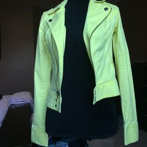Bright green Mudd jacket