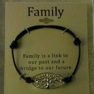 Jewelry - SS Family Corded Boho Bracelet