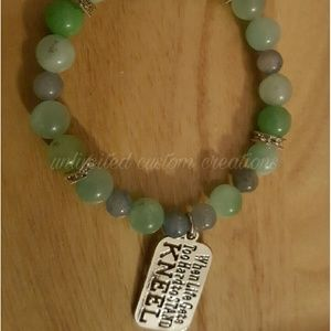Faith inspired bracelet