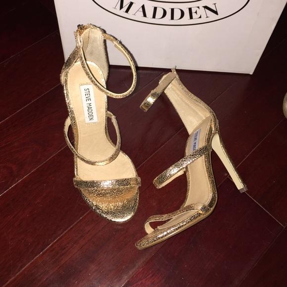 New Steve Madden Rose Gold Heel Size 5