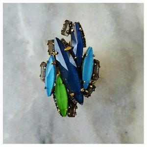 Erickson Beamon Jewelry - Erickson Beamon Mediterranean Dream Ring - size 6