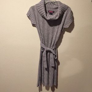 Say What? Dresses & Skirts - Gray sweater dress