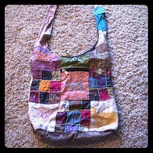 Boho cross body purse