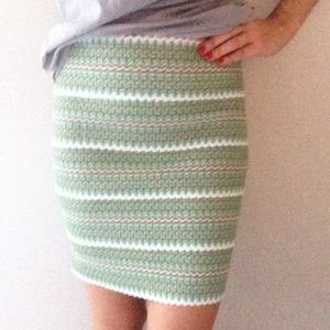 Pleasure Doing Business elastic banded skirt
