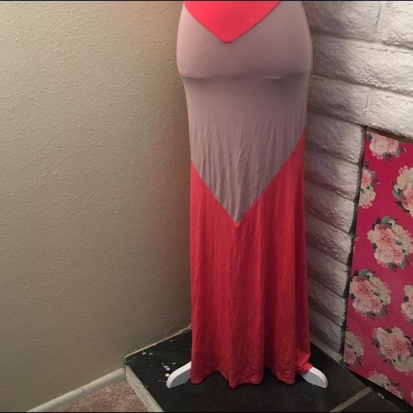 Monte au maxi dress