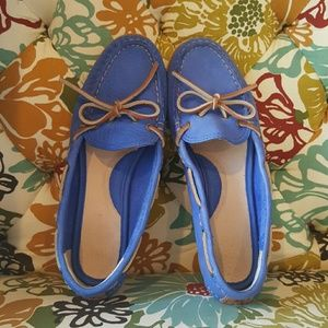 Frye leather Loafers in Periwinkle