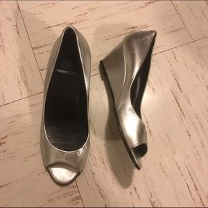 Pierre Hardy Shoes - FINAL PRICE Pierre hardy silver wedges