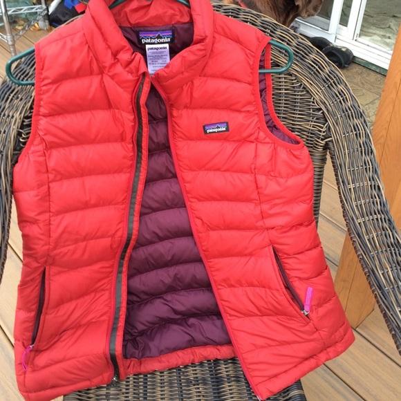 b786a9949 FRI SALE💃Patagonia Down Sweater Vest Red Girls XL