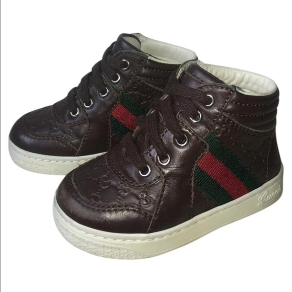f90e034be27 Gucci Other - Gucci baby boy signature sneakers tennis shoes 4